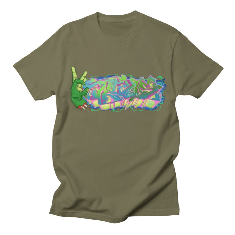 Dedos Graffiti letters 2 Women's Regular Unisex T-Shirt by Dedos tees