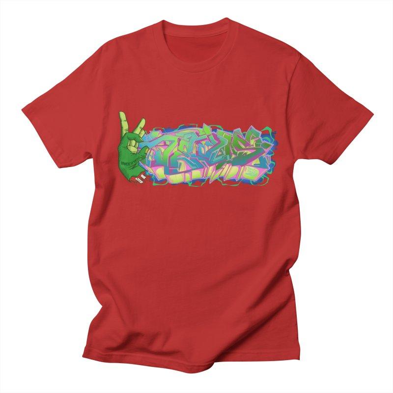 Dedos Graffiti letters 2 Men's T-shirt by Dedos tees