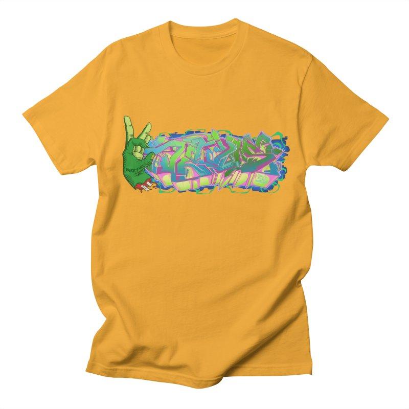 Dedos Graffiti letters 2 Men's Regular T-Shirt by Dedos tees
