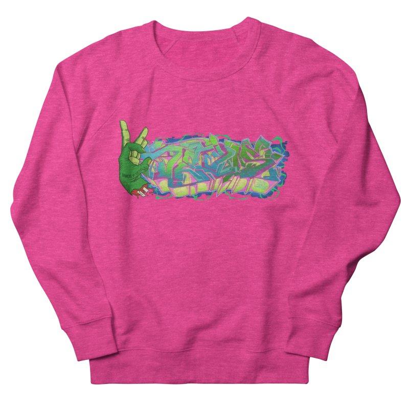 Dedos Graffiti letters 2 Women's Sweatshirt by Dedos tees