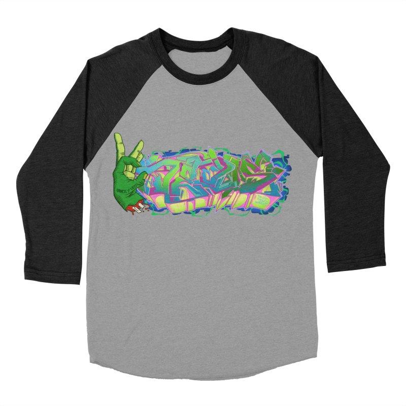 Dedos Graffiti letters 2 Men's Baseball Triblend T-Shirt by Dedos tees