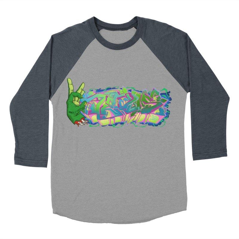 Dedos Graffiti letters 2 Men's Baseball Triblend Longsleeve T-Shirt by Dedos tees