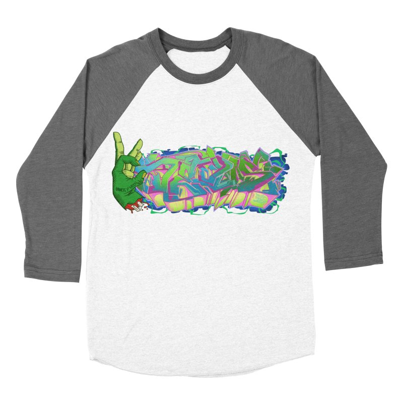 Dedos Graffiti letters 2 Men's Baseball Triblend Longsleeve T-Shirt by Dedos tees