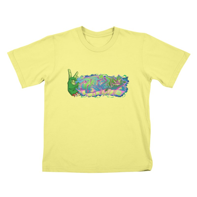 Dedos Graffiti letters 2   by Dedos tees