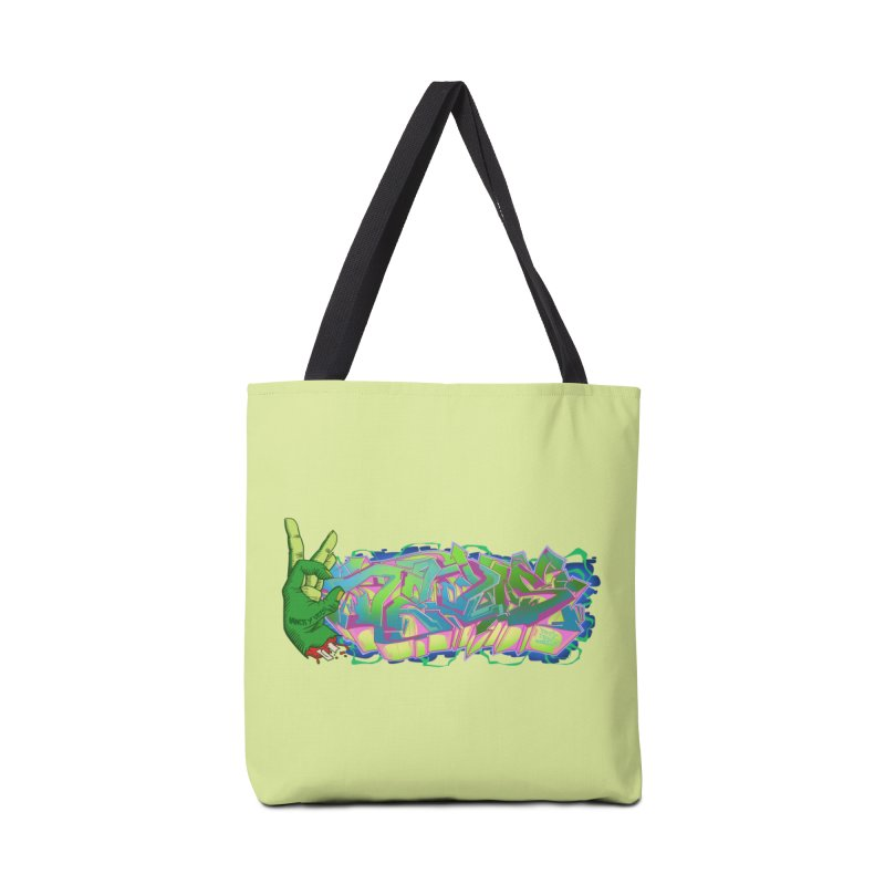 Dedos Graffiti letters 2 Accessories Bag by Dedos tees