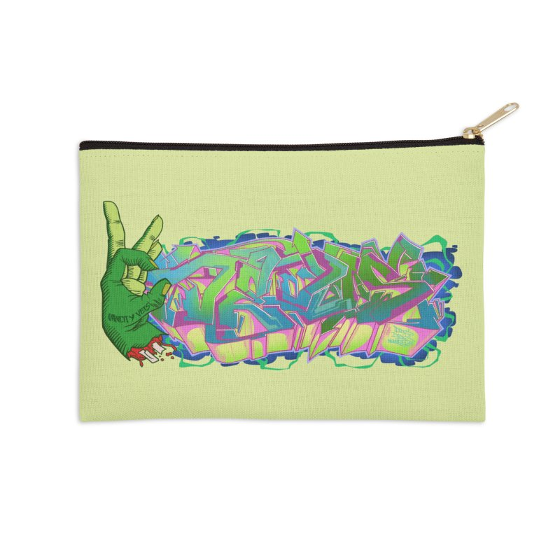 Dedos Graffiti letters 2 Accessories Zip Pouch by Dedos tees