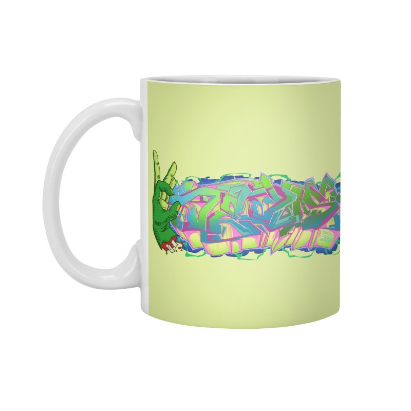 Dedos Graffiti letters 2 Accessories Mug by Dedos tees