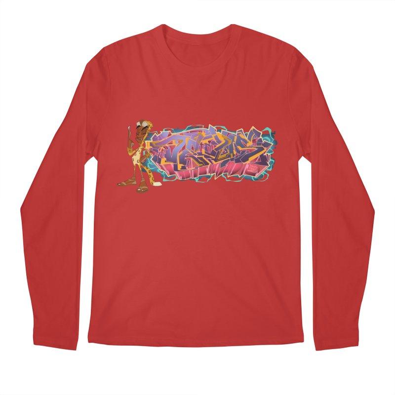 Dedos Graffiti letters 3 Men's Longsleeve T-Shirt by Dedos tees