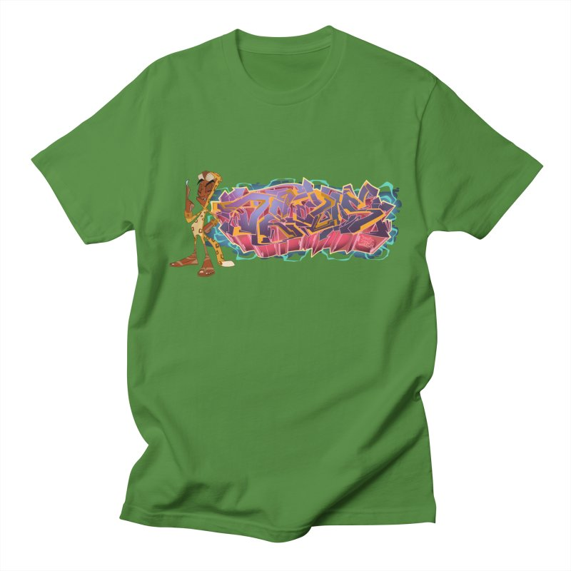 Dedos Graffiti letters 3 Women's Regular Unisex T-Shirt by Dedos tees