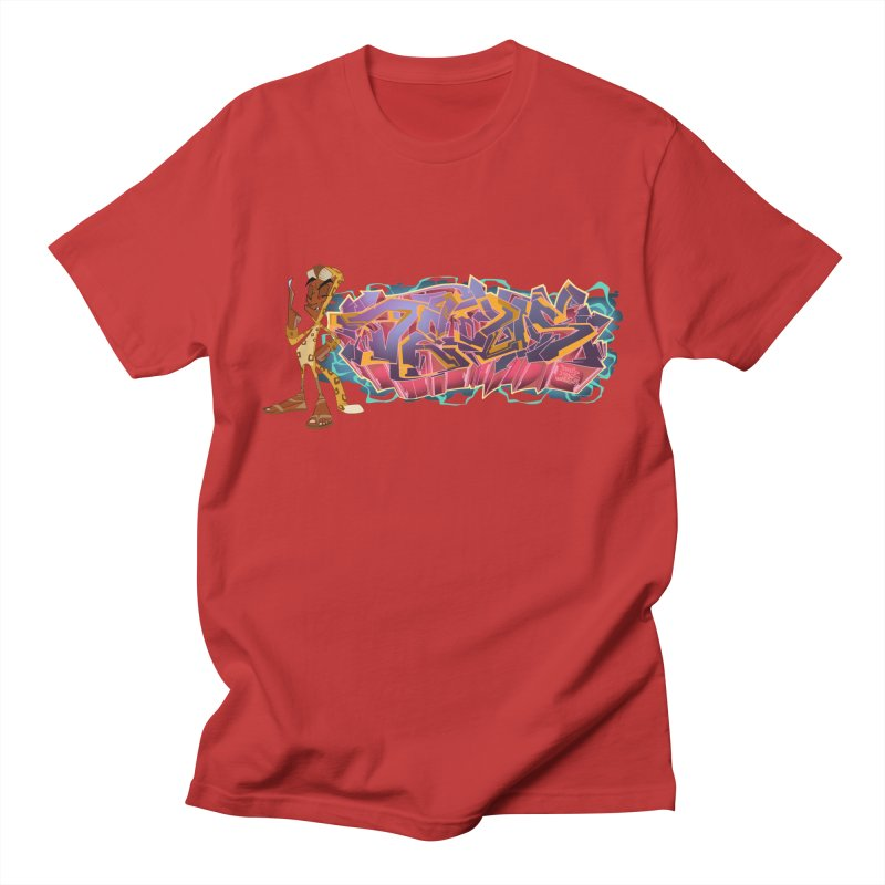 Dedos Graffiti letters 3 Men's Regular T-Shirt by Dedos tees