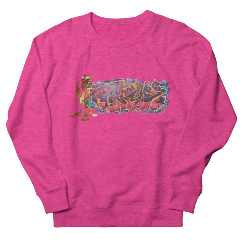 Dedos Graffiti letters 3 Women's Sweatshirt by Dedos tees