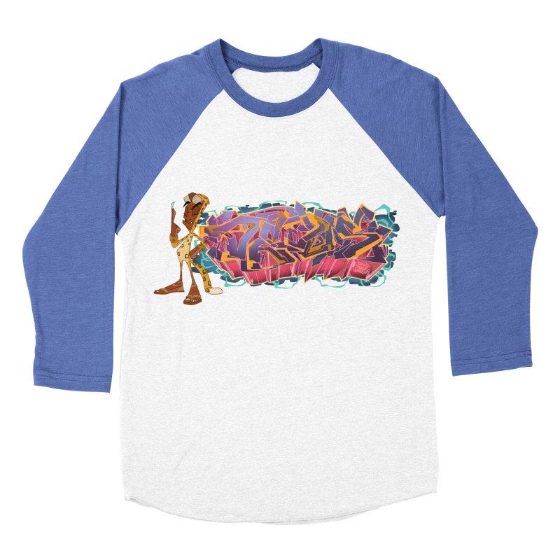 Dedos Graffiti letters 3 Women's Baseball Triblend Longsleeve T-Shirt by Dedos tees