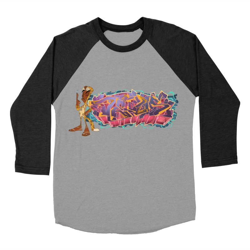 Dedos Graffiti letters 3 Men's Baseball Triblend Longsleeve T-Shirt by Dedos tees