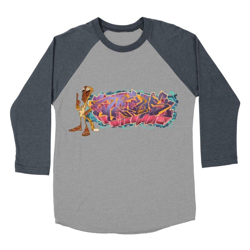 Dedos Graffiti letters 3 Men's Baseball Triblend T-Shirt by Dedos tees