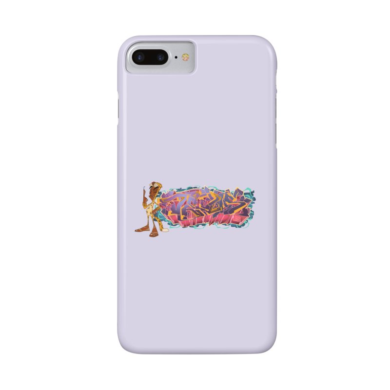 Dedos Graffiti letters 3 Accessories Phone Case by Dedos tees
