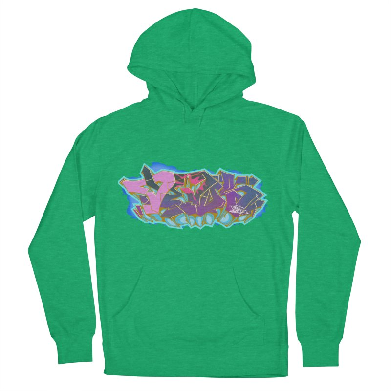 Dedos Graffiti letters 4 Women's French Terry Pullover Hoody by Dedos tees