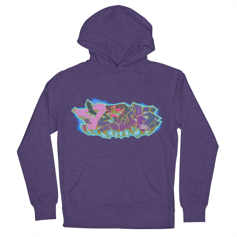 Dedos Graffiti letters 4 Men's Pullover Hoody by Dedos tees