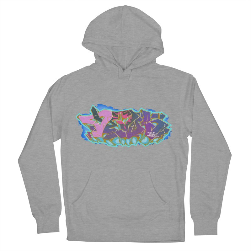 Dedos Graffiti letters 4 Men's French Terry Pullover Hoody by Dedos tees