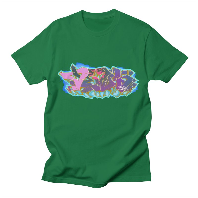 Dedos Graffiti letters 4 Men's T-Shirt by Dedos tees