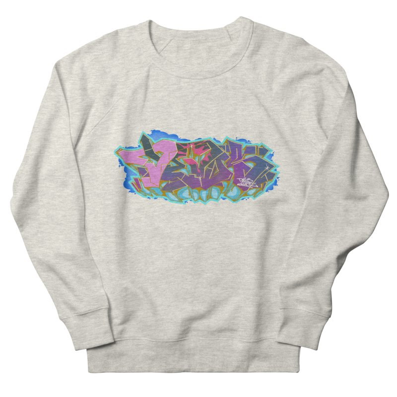 Dedos Graffiti letters 4 Women's French Terry Sweatshirt by Dedos tees