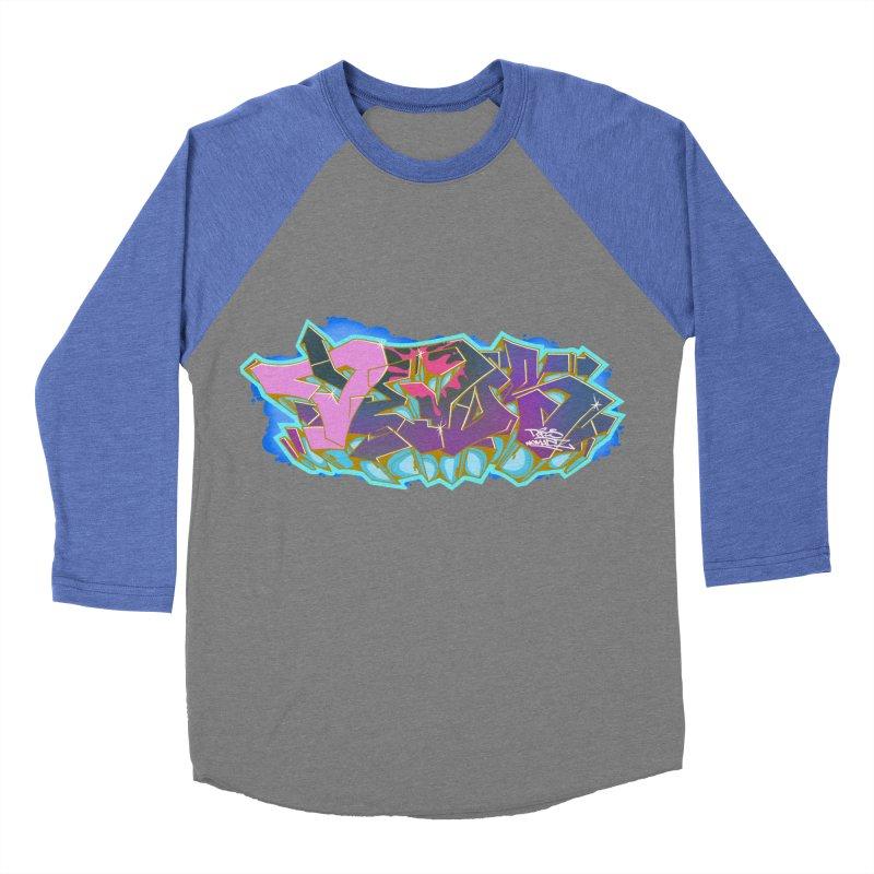 Dedos Graffiti letters 4 Women's Baseball Triblend Longsleeve T-Shirt by Dedos tees