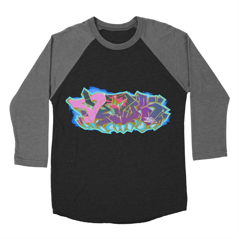 Dedos Graffiti letters 4 Men's Baseball Triblend Longsleeve T-Shirt by Dedos tees