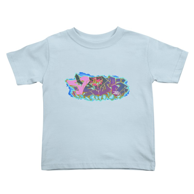 Dedos Graffiti letters 4 Kids Toddler T-Shirt by Dedos tees