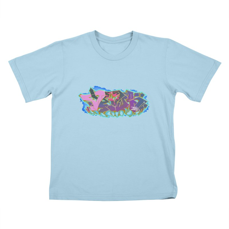 Dedos Graffiti letters 4 Kids T-shirt by Dedos tees