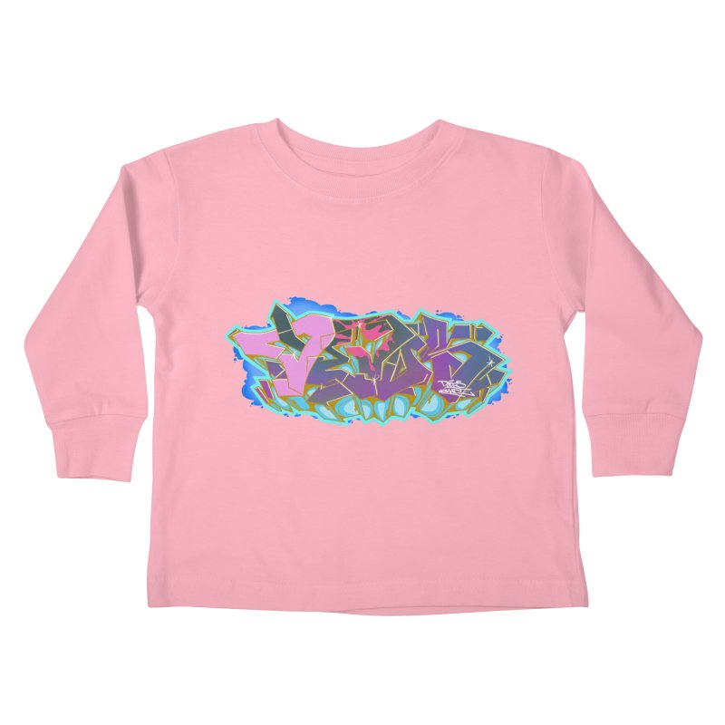 Dedos Graffiti letters 4 Kids Toddler Longsleeve T-Shirt by Dedos tees