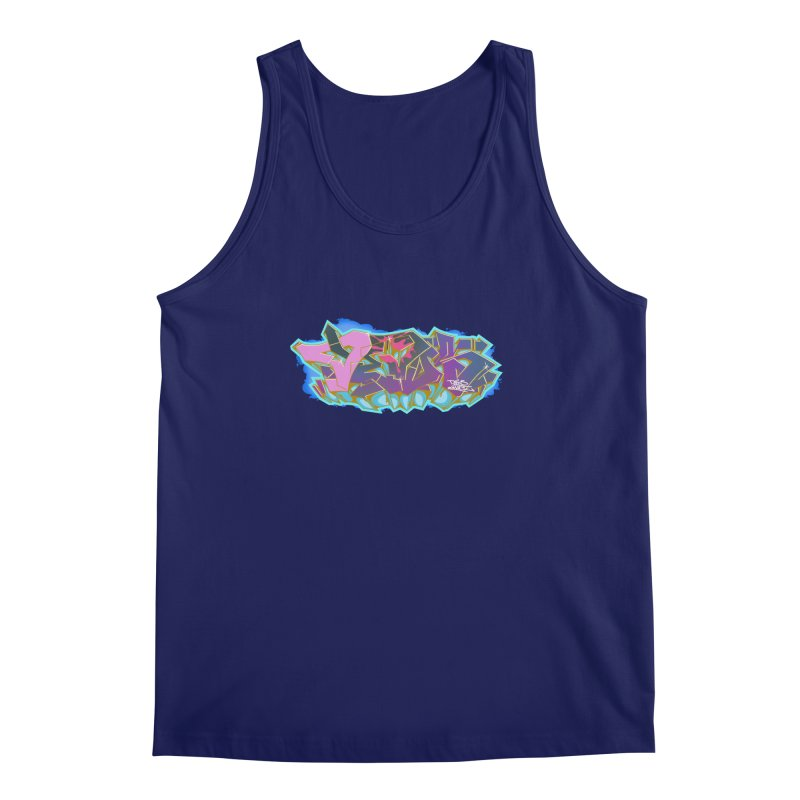 Dedos Graffiti letters 4 Men's Tank by Dedos tees