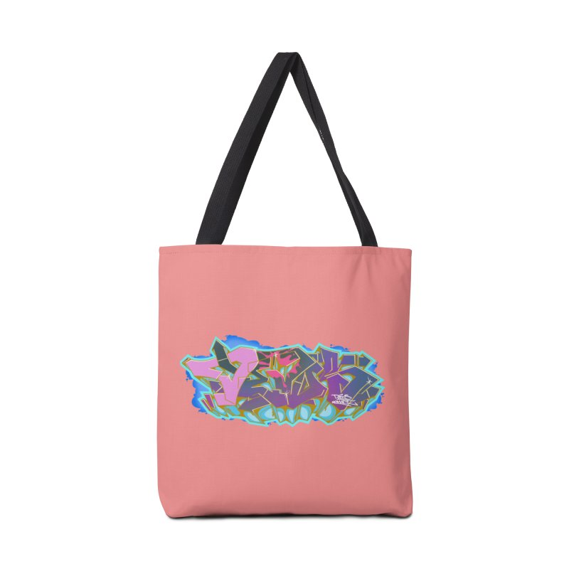 Dedos Graffiti letters 4 Accessories Tote Bag Bag by Dedos tees
