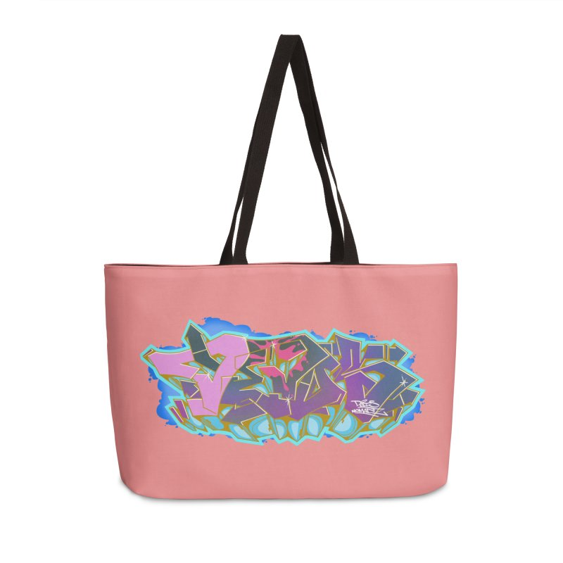 Dedos Graffiti letters 4 Accessories Weekender Bag Bag by Dedos tees