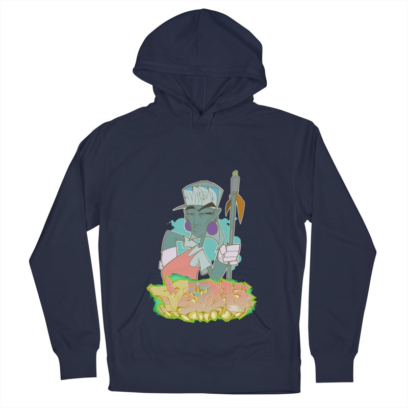Bboy Azteca Women's French Terry Pullover Hoody by Dedos tees