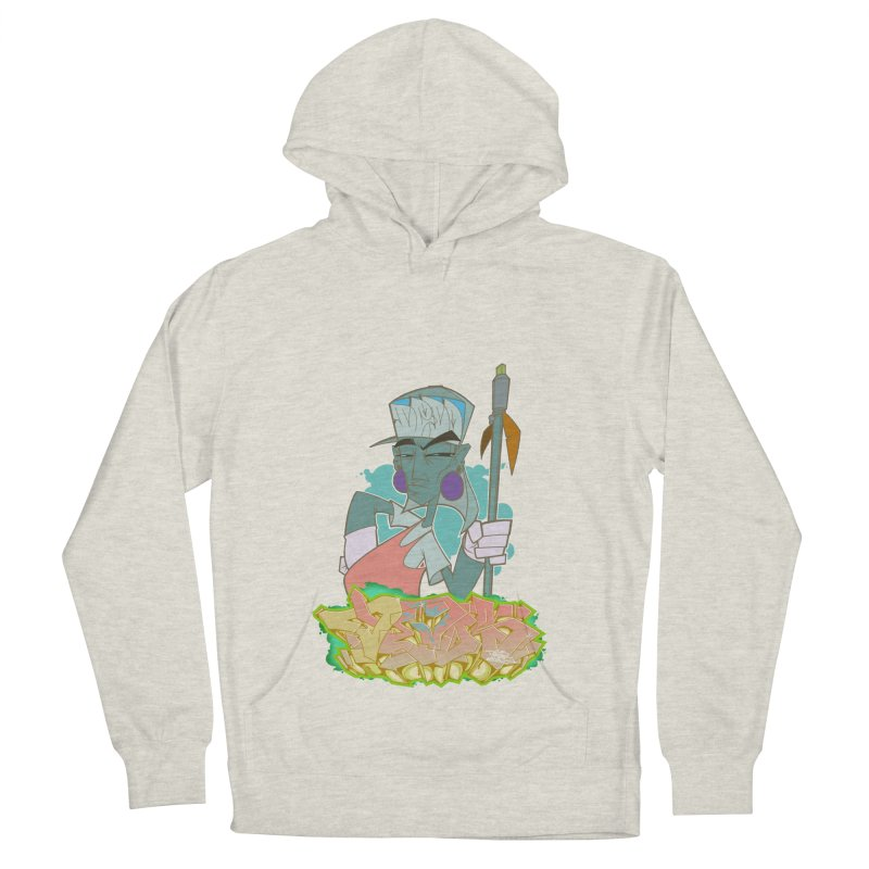Bboy Azteca Men's French Terry Pullover Hoody by Dedos tees