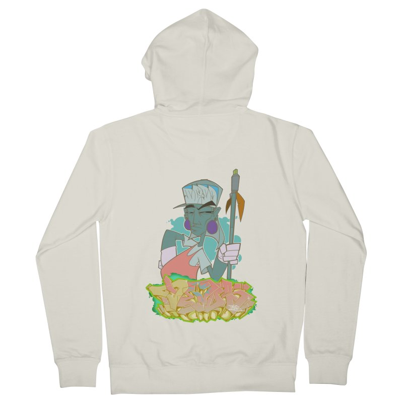 Bboy Azteca Women's Zip-Up Hoody by Dedos tees