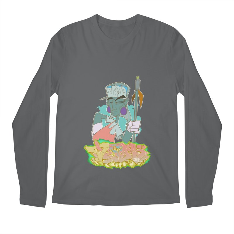 Bboy Azteca Men's Regular Longsleeve T-Shirt by Dedos tees