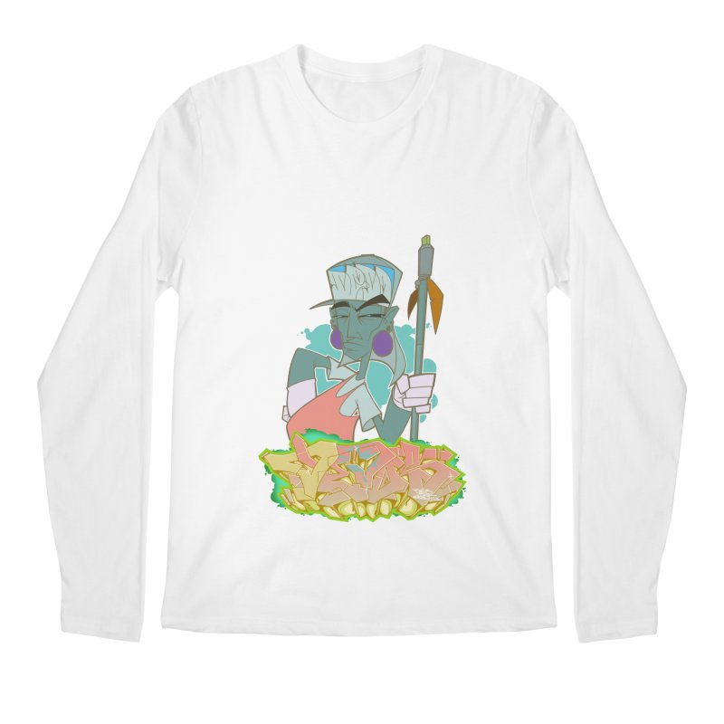 Bboy Azteca Men's Regular Longsleeve T-Shirt by Dedos tees