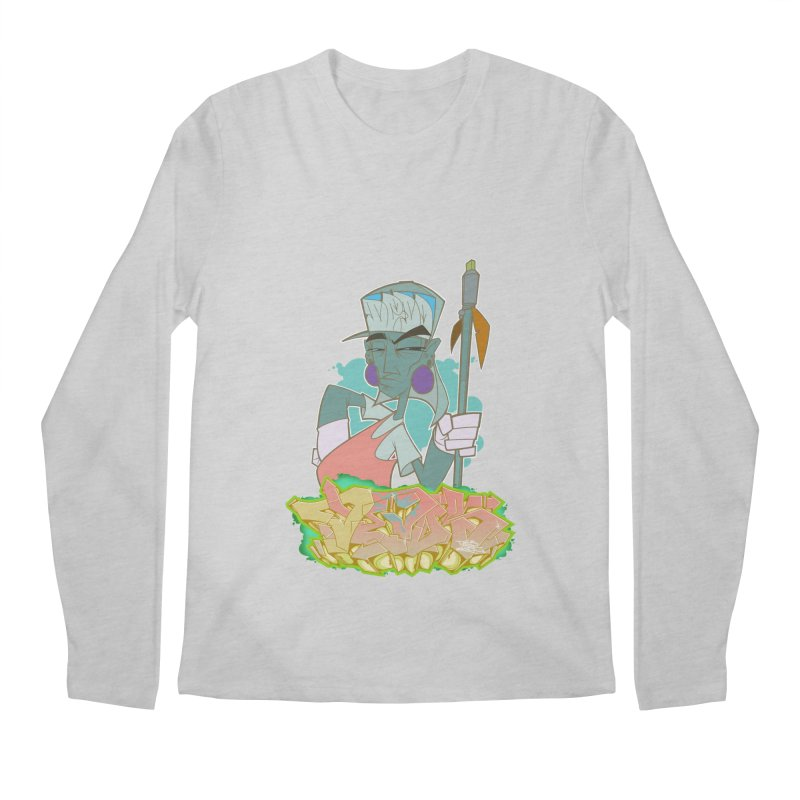 Bboy Azteca Men's Longsleeve T-Shirt by Dedos tees