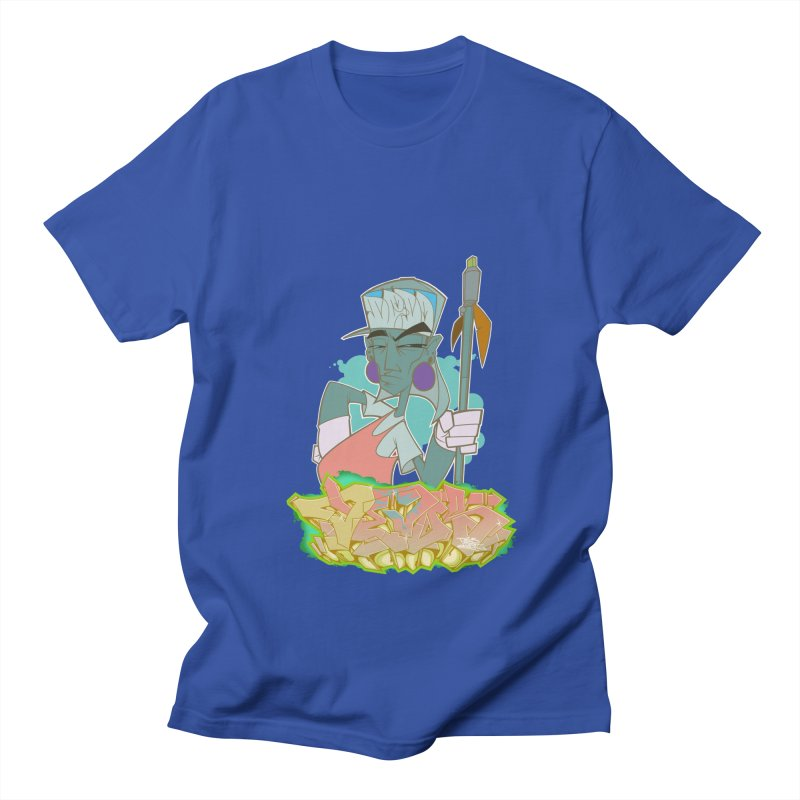 Bboy Azteca Men's Regular T-Shirt by Dedos tees