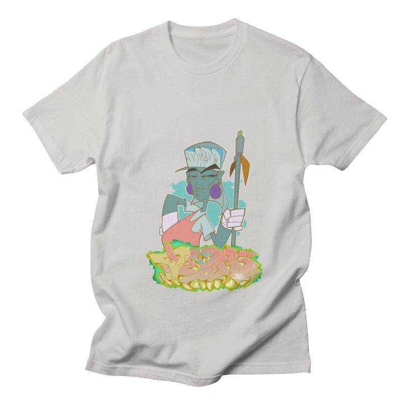 Bboy Azteca Men's T-Shirt by Dedos tees