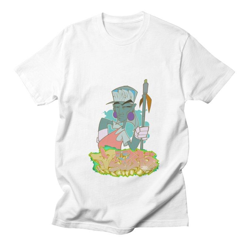 Bboy Azteca Women's Regular Unisex T-Shirt by Dedos tees