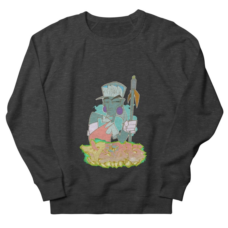 Bboy Azteca Women's French Terry Sweatshirt by Dedos tees
