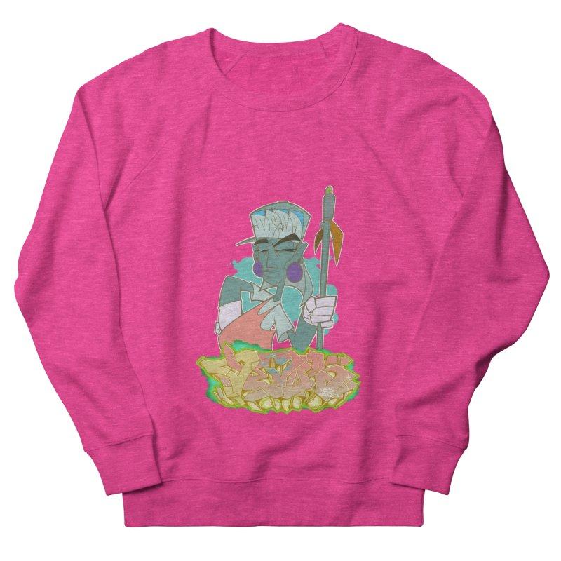 Bboy Azteca Women's French Terry Sweatshirt by Dedos tees