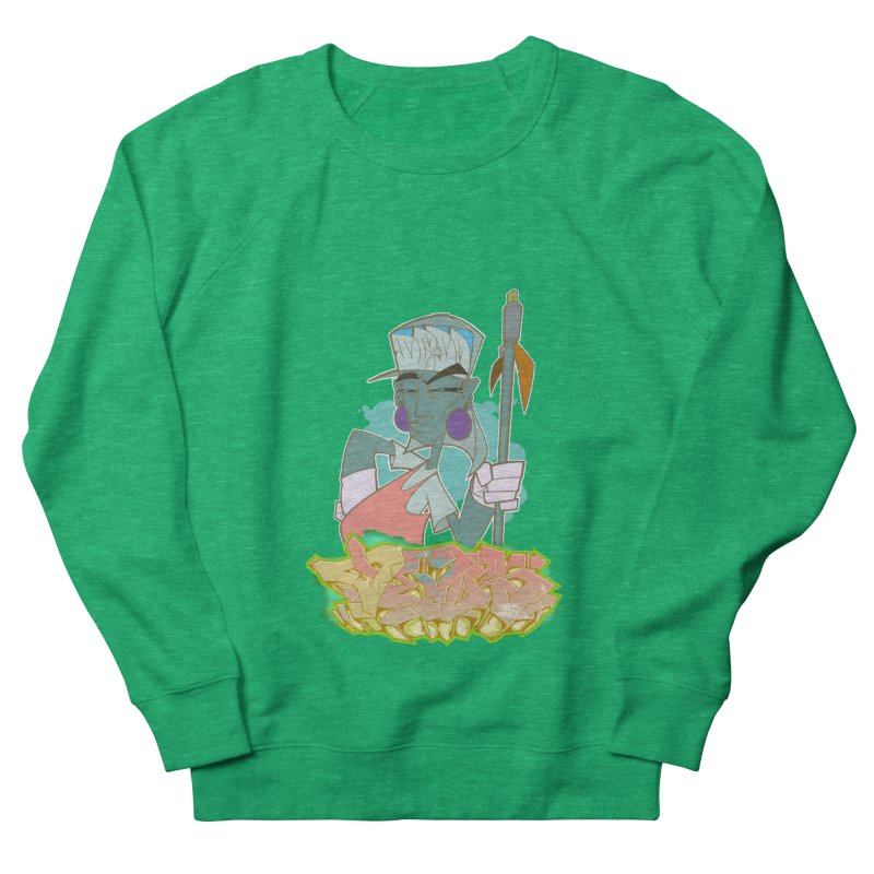 Bboy Azteca Men's French Terry Sweatshirt by Dedos tees