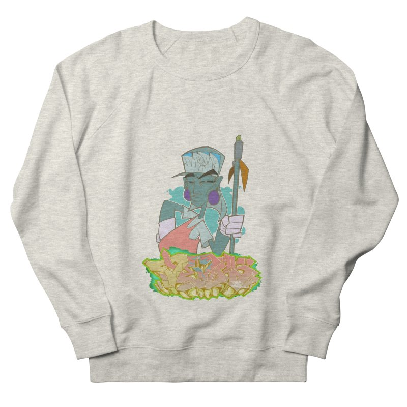 Bboy Azteca Men's French Terry Sweatshirt by Dedos tees