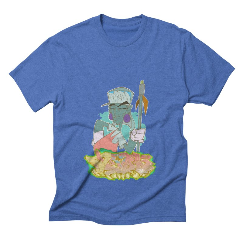 Bboy Azteca Men's Triblend T-Shirt by Dedos tees