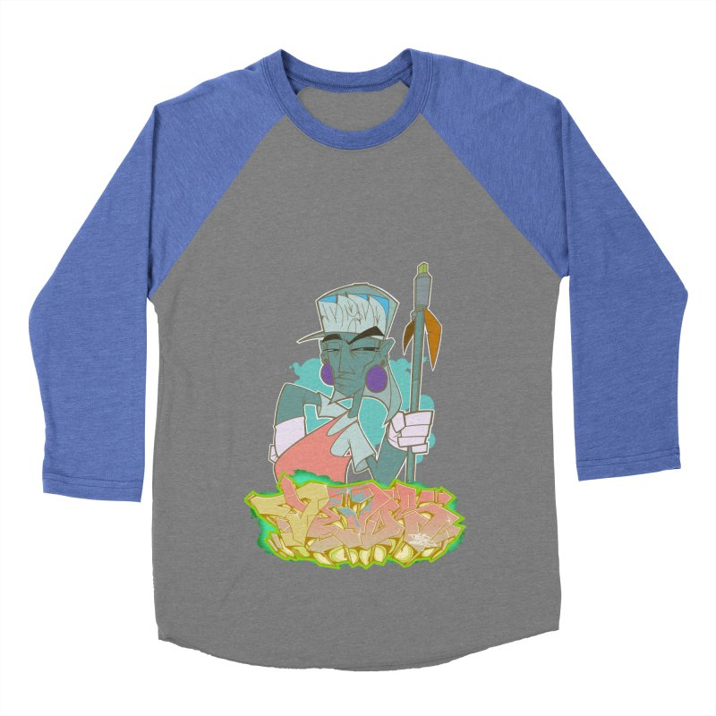 Bboy Azteca Men's Baseball Triblend Longsleeve T-Shirt by Dedos tees