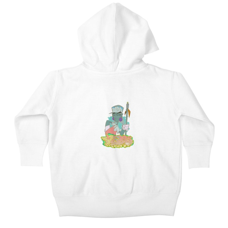 Bboy Azteca Kids Baby Zip-Up Hoody by Dedos tees