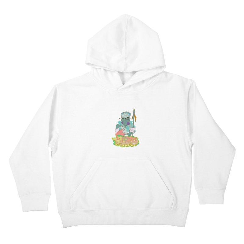 Bboy Azteca Kids Pullover Hoody by Dedos tees