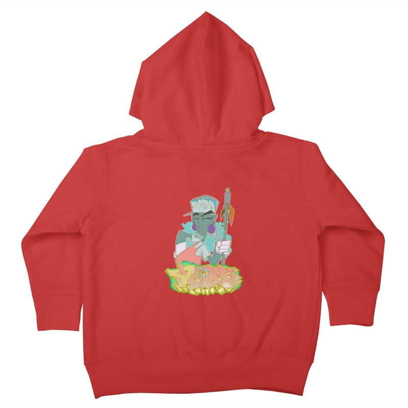 Bboy Azteca Kids Toddler Zip-Up Hoody by Dedos tees
